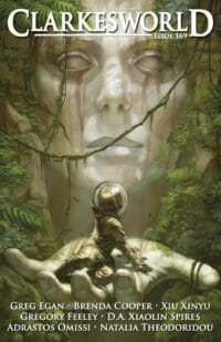 Clarkesworld Magazine – Issue 169 cover - click to view full size
