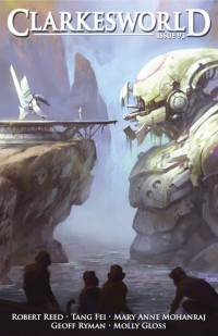 Clarkesworld Magazine – Issue 93 cover - click to view full size
