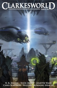 Clarkesworld Magazine – Issue 94 cover - click to view full size