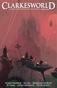 Clarkesworld Magazine – Issue 96 cover - click to view full size