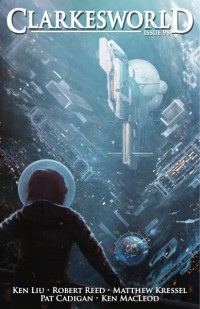 Clarkesworld Magazine – Issue 98 cover - click to view full size