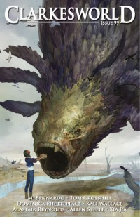 Clarkesworld Magazine – Issue 99 cover - click to view full size