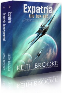 Expatria: the box set cover - click to view full size