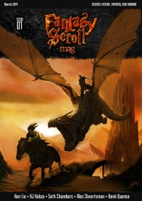 Fantasy Scroll Magazine Issue #1 cover - click to view full size