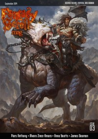 Fantasy Scroll Magazine Issue #3 cover - click to view full size