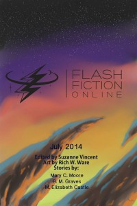 Flash Fiction Online Issue #10 July 2014 cover - click to view full size