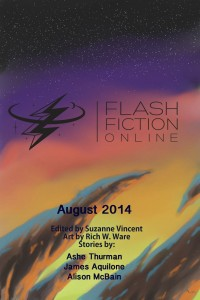 Flash Fiction Online Issue #11 August 2014 cover - click to view full size