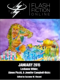 Flash Fiction Online Issue #16 January 2015 cover - click to view full size