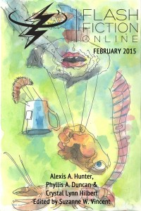 Flash Fiction Online Issue #17 February 2015 cover - click to view full size
