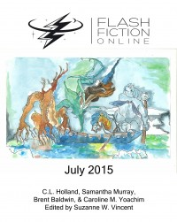 Flash Fiction Online Issue #22 July 2015 cover - click to view full size