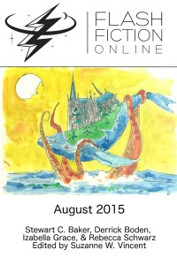Flash Fiction Online Issue #23 August 2015 cover - click to view full size