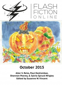 Flash Fiction Online Issue #25 October 2015 cover - click to view full size