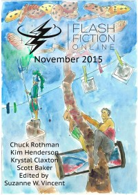 Flash Fiction Online Issue #26 November 2015 cover - click to view full size