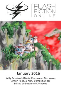 Flash Fiction Online Issue #28 January 2016 cover - click to view full size