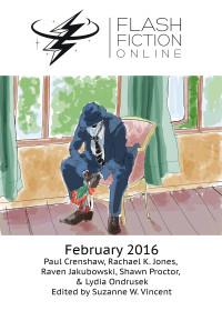 Flash Fiction Online Issue #29 February 2016 cover - click to view full size