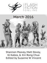 Flash Fiction Online Issue #30 March 2016 cover - click to view full size