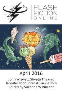 Flash Fiction Online Issue #31 April 2016 cover - click to view full size