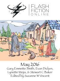 Flash Fiction Online Issue #32 May 2016 cover - click to view full size