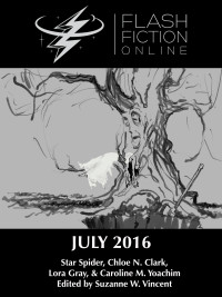 Flash Fiction Online Issue #34 July 2016 cover - click to view full size
