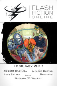 Flash Fiction Online Issue #41 February 2017 cover - click to view full size