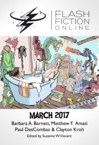 Flash Fiction Online Issue #42 March 2017 cover - click to view full size