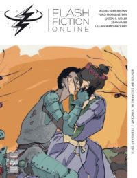 Flash Fiction Online Issue #53 February 2018 cover - click to view full size