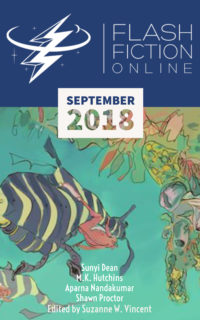 Flash Fiction Online Issue #60 September 2018 cover - click to view full size