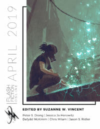 Flash Fiction Online Issue #67 April 2019 cover - click to view full size