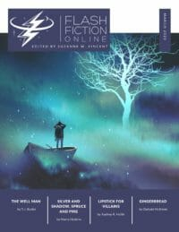 Flash Fiction Online Issue #77 March 2020 cover - click to view full size