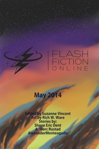 Flash Fiction Online Issue #8 May 2014 cover - click to view full size