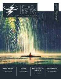 Flash Fiction Online Issue #82 August 2020 cover - click to view full size