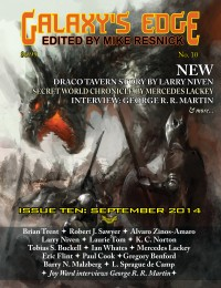 Galaxy's Edge Magazine – Issue 10: September 2014 cover - click to view full size