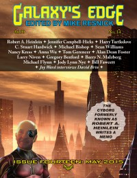 Galaxy's Edge Magazine: Issue 14, May 2015 (Heinlein special) cover - click to view full size