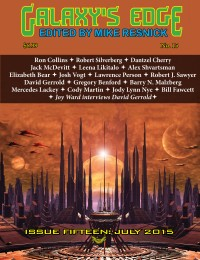 Galaxy's Edge Magazine: Issue 15, July 2015 (Worldcon / Sasquan Special) cover - click to view full size