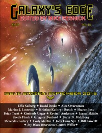 Galaxy's Edge Magazine: Issue 16, September 2015 cover - click to view full size