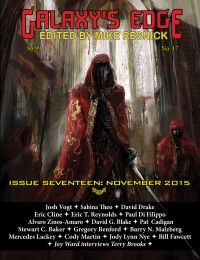 Galaxy's Edge Magazine: Issue 17, November 2015 cover - click to view full size