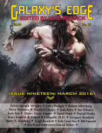 Galaxys Edge Magazine: Issue 19, March 2016 cover - click to view full size