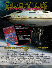 Galaxy's Edge Magazine: Issue 24, January 2017 cover - click to view full size