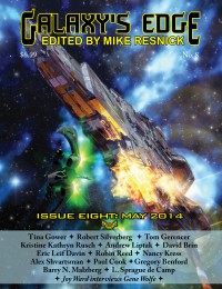 Galaxy's Edge Magazine – Issue 8: May 2014 cover - click to view full size