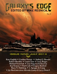 Galaxy's Edge Magazine – Issue 9: July 2014 cover - click to view full size