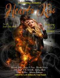Heart's Kiss: Issue 15, June-July 2019: Featuring Anna J. Stewart cover - click to view full size