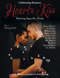 Heart's Kiss Magazine: Issue 7, February 2018 cover - click to view full size