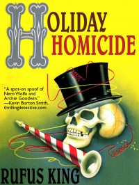 Holiday Homicide cover - click to view full size