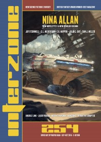 INTERZONE 254 SEPT-OCT 2014 cover - click to view full size