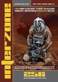 Interzone #256 cover - click to view full size