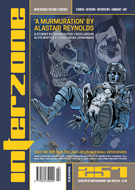 Interzone #257 cover - click to view full size