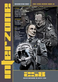 Interzone #258 cover - click to view full size