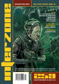 Interzone #259 cover - click to view full size