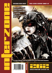 Interzone #262 cover - click to view full size