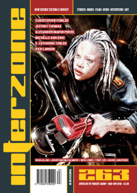 Interzone #263 cover - click to view full size